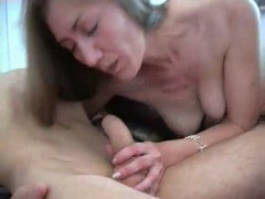 Elegant long haired MILF gets a good workover by young stud