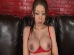 Cute japanese licks ass and give titjob