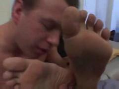 Hot feet and hot body fucked
