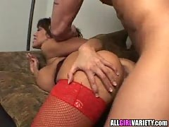 Busty Ava Hard Pounded