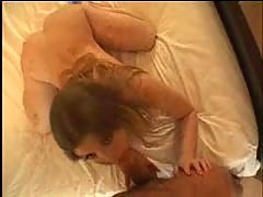 Beautiful blond with wet pussy