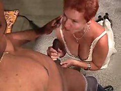 Redhead Mom vs Black Stud