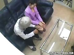 Japanese woman forced during interview 5