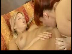 2 Horny Babes Eat Each Other Into Ecstasy