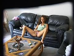 Young Girl Watching Porn and Masturbating