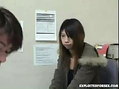 Japanese schoolgirl forced for shoplifting 16
