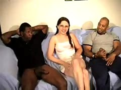 Lelani interracial gangbang