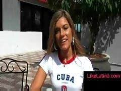 Flirting with a latina