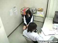 Japanese schoolgirl forced for shoplifting 11