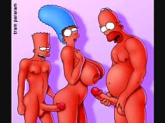 Cpt. awesome�s simpsons (tram pararam) porn collection [vide
