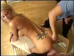 Two guys fucking Krystal Steal