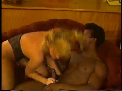 Tanya Foxx and Elle Rio vintage interracial 3 way
