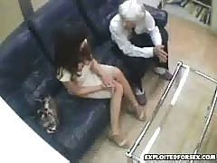Japanese woman forced during interview 18