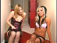 Maitresse madeline and jasmine - jerk off instruction