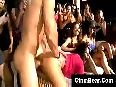 Cfnm stripper fucks and jizzes cfnm party babe