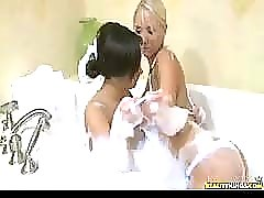 Hot lesbian scene with lynn love and molly