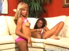 Black Lesbians Playing