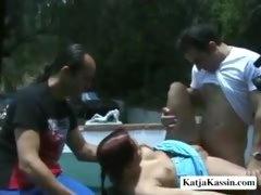 Katja Got Gangbanged
