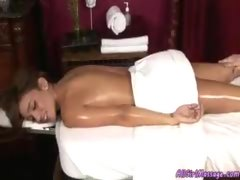 Lady Giving a Sensual Massage
