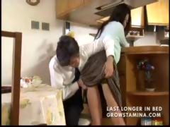 Japanese Housewife Trying to Be Obedient