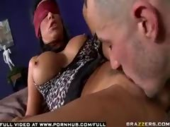 Booby Brunette Interview Fuck