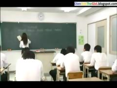 Japanese Schoolgirl Private Lesson