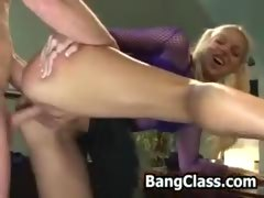 Blonde Boy Fucks Blonde Girl