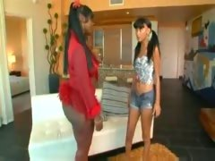 Ebony Lesbian Action