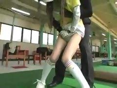 Molester Hits on Japanese Girl