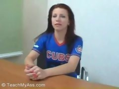 Redhead Interview Fuck