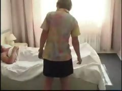 Russian Dad Fucks Nurse