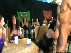 Party Girls Give Stripper a Nice Beating