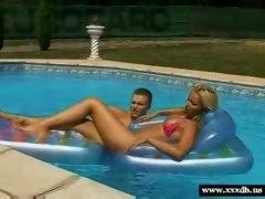 Outdoor Pool Sex