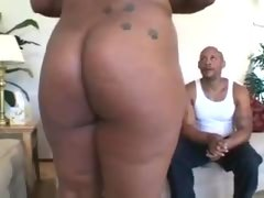 Big black Mama having fun
