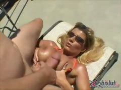Kristal Summers sunbathing and having sex