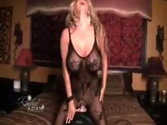 Rachel Aziani Showing How To Play With Her Toy