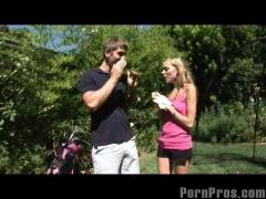 Teen Golf Fuck!.